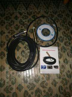 Endoscope waterproof wire cam