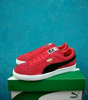Puma  Suede Classic Red Original Like New