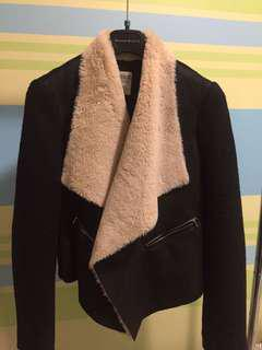 Zara Trafaluic Faux fur jacket