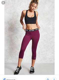 Forever 21 Gym Pants