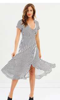 [NEW]Maxi wrap dress
