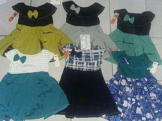 Dress bayi 0-2thn