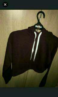 H&M hoodie maroon
