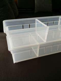Plastic Tray with detachable deviders