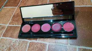 Make over lip colour pallete ori