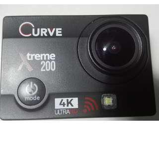 Curve Xtreme 200 water proof 4k HD  action video camera same like Go pro .