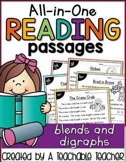 Reading passage with phonics + pdf file of 'Fairy Tales Sequence '.
