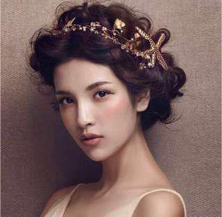 Vintage Sea Theme Hair Accessories