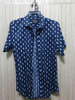 Top Man Navy Shirt