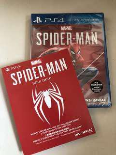 全新PS4 SPIDER-MAN 連CODE