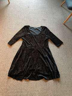 Spin doctor black dress 3XL price reduced