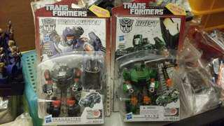 TRANSFORMERS GENERATIONS TRAILCUTTER & HOIST BIB DELUXE Power of the primes