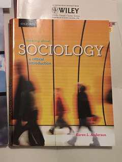 Textbook for SOC103