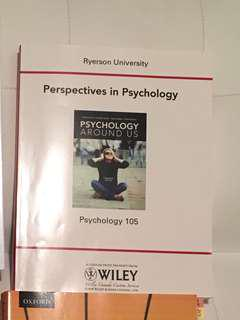 Textbook for PSY105