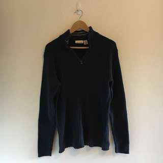 DKNY Jeans Ribbed Sweater