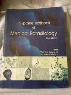 Philippine Textbook of Medical Parasitology 2nd Edition by Vicente Belizario (Medical Technology Book)