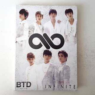 INFINITE - BTD (Japanese Ver.) - Type A First Press Limited Edition (CD+Photobooklet+Photocard)
