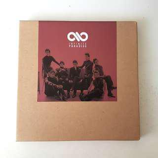 INFINITE - Paradise (Special Repackage) Album (CD+Photobooklet+Photocard+Folder Poster)