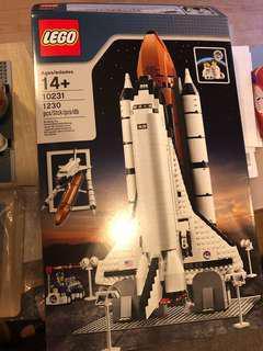 Lego 10231 貼紙未用 NASA space shuttle 有盒有書明書,21309 10213