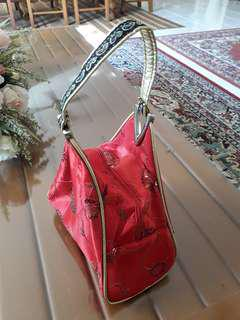 Red Chinese Theme Handbag