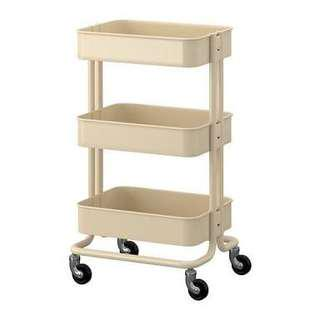 3 Tier Cart (cream)