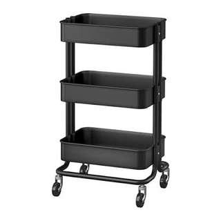 3 Tier Cart (black)