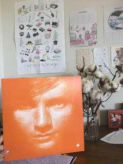 Ed Sheeran Vinyl Record (+)