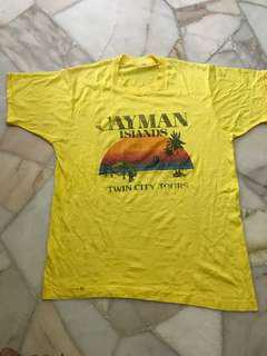 Vintage 80's cayman islands