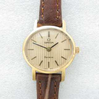 Omega Geneva 日內瓦 機械女錶 古董錶