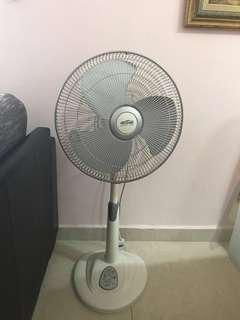Mistral standing fan with remote