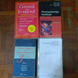 Pharmacy books Chinese book Buy 3 free 1