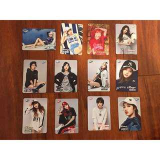 K-POP celebrities card 2