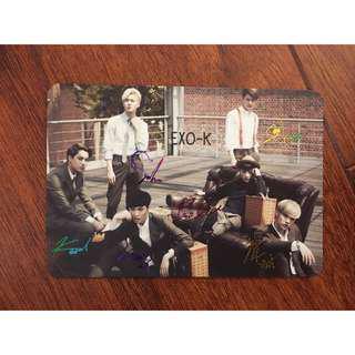 K-POP celebrities card 3