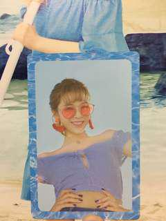 TWICE 2nd Special Album Summer Nights Jeongyeon Photo Card