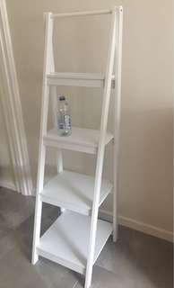 Tiered Shelf White
