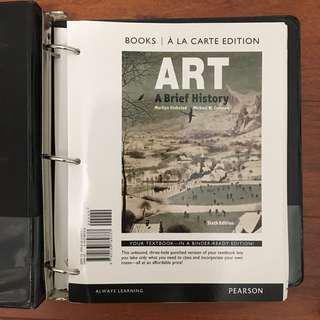 Art A Brief History (sixth edition)