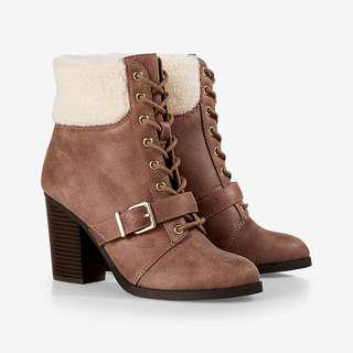 Express Lace-Up Bootie