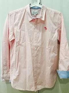 Padini pink long sleeves shirt size 11