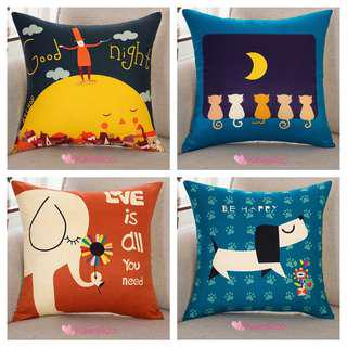 🚚 🌿 [ clearance sale ] 5 free 1 Cushion covers Instock