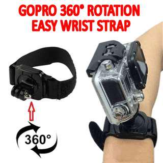TGP001 360 Degree Rotation Wrist Strap for GoPro Hero Cameras