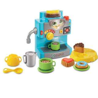 Brand New - LeapFrog - Coffee Maker- Limited Qty!