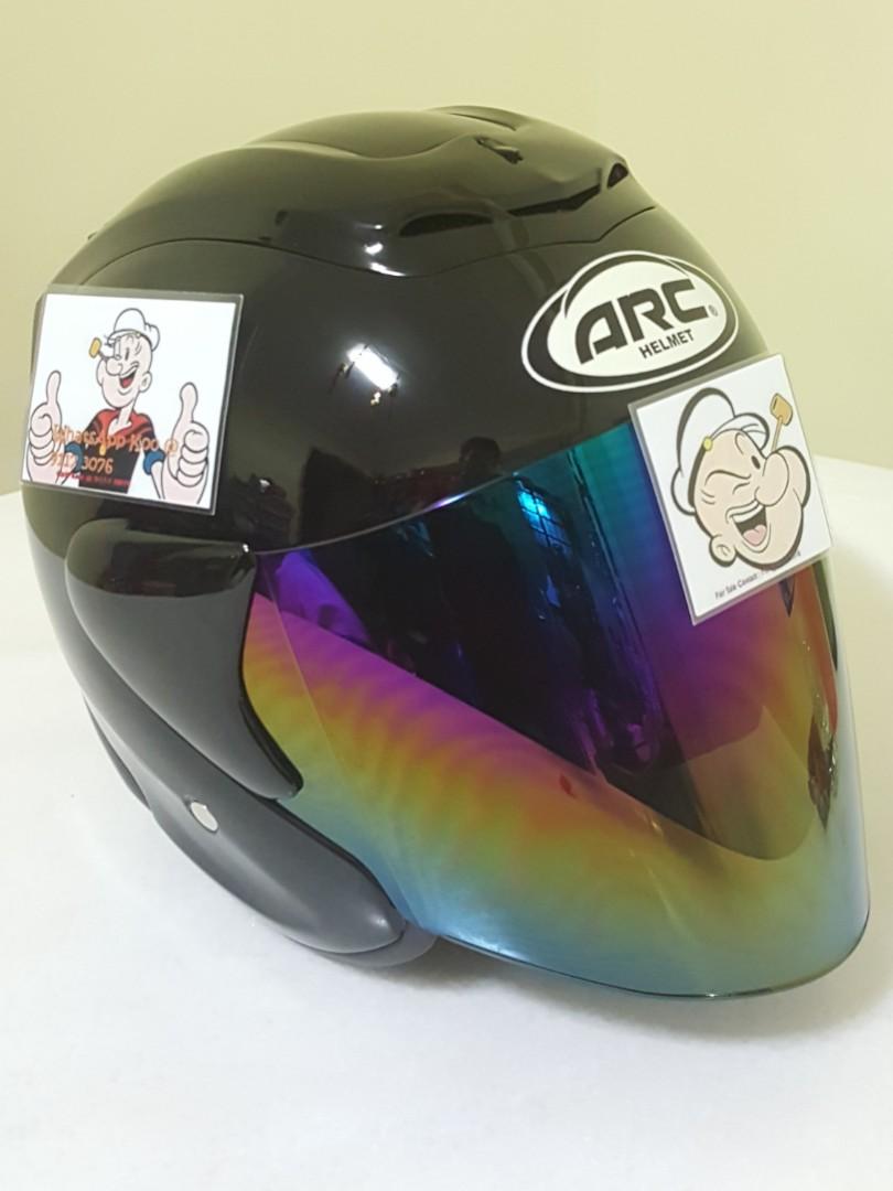 1009 Arc Ritz Helmet For Sale Thanks To All My Buyer Visor Vixion Old Support Yamaha Honda Suzuki Motorbikes Motorbike Accessories On Carousell