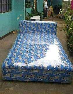 Bed with foam