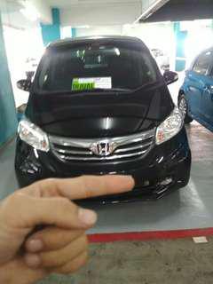 Honda freed tahun 2014 nik 2013