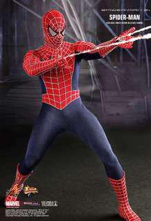 Hot Toys Spiderman 3 - Red Suit Spiderman