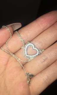 "Pandora ""Loving Hearts of Pandora"" necklace"
