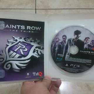 Saints Row The Third PS3 Games