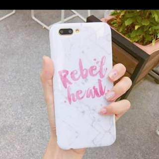 🚚 【全新現貨】少女粉色大理石英文字母oppo r11plus手機殼