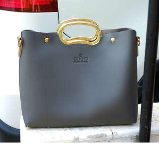 Grey Medium bag