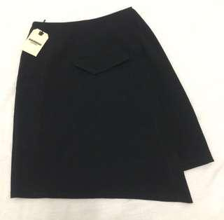 Hardware Asymmetric Skirt